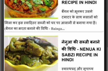 Recipe Hindi for Android - APK Download