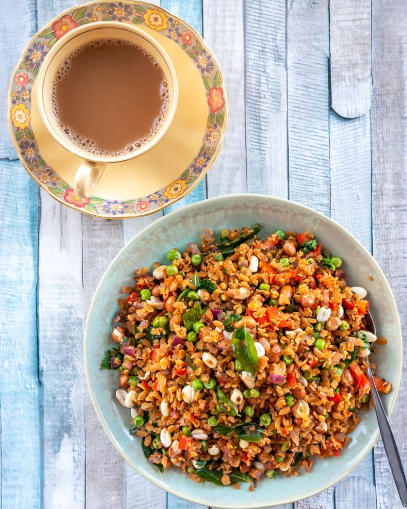Red Rice Poha - Recipes Using Red Rice