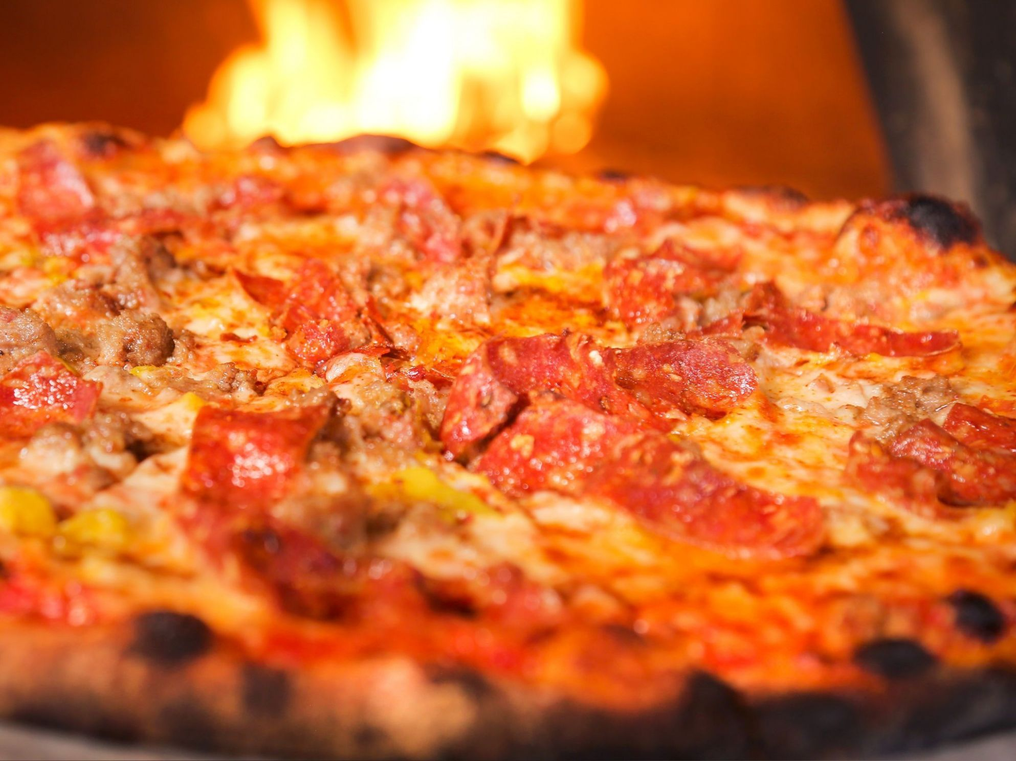 Red Wagon Pizza - Pizza Recipes Food Network