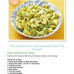 "Ree Drummonds Pasta With Zucchini Pesto"" From The Pioneer Woman .."