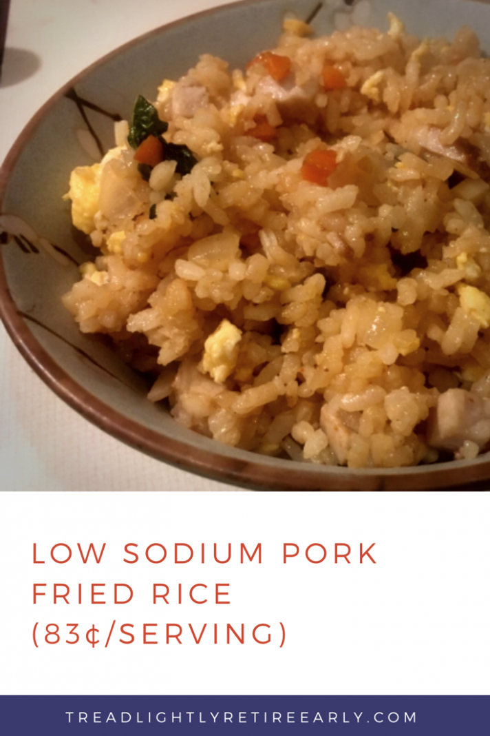 Restaurant Meals At Home: Low Sodium Pork Fried Rice (9¢/Serving ..