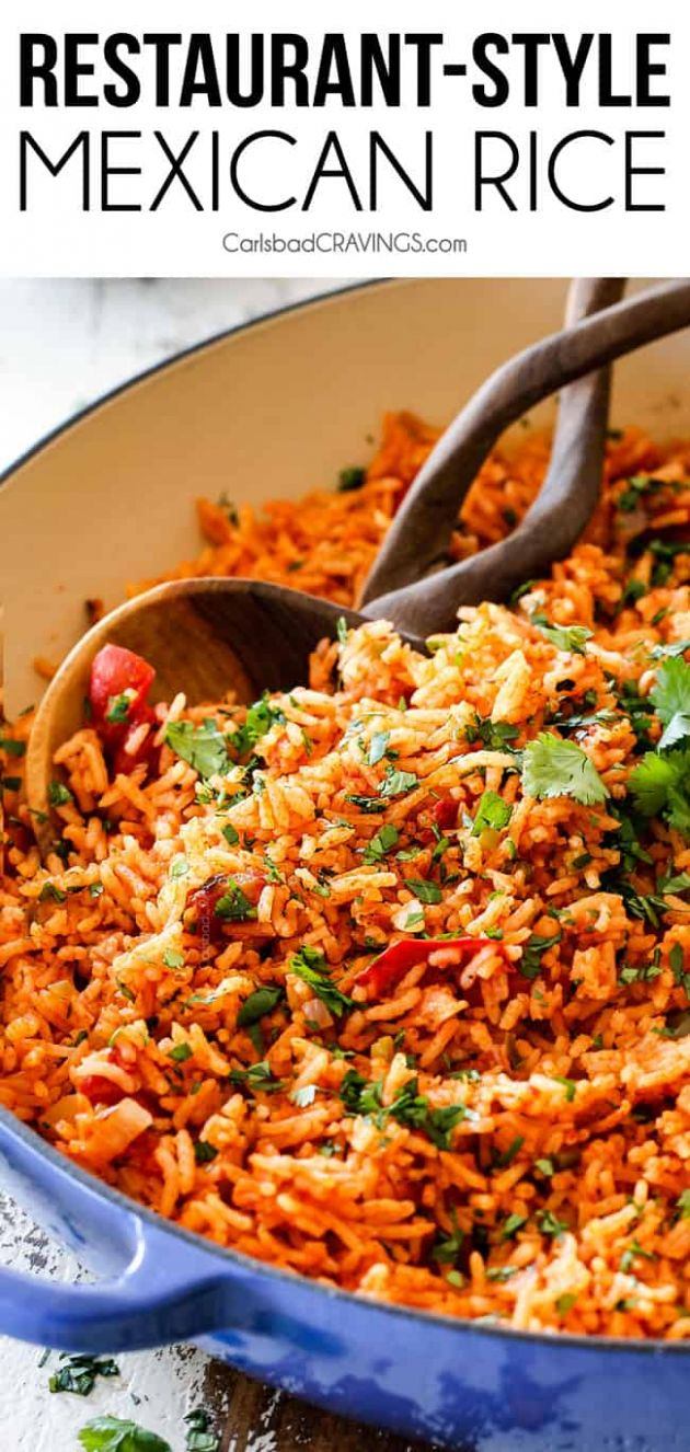 Restaurant-Style Mexican Rice - Recipes Mexican Rice