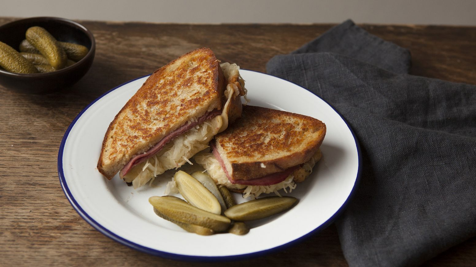 Reuben sandwich - Sandwich Recipes Bbc Good Food