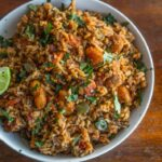 Rice Cooker Spanish Rice With Chicken & Shrimp – Fit Men Cook – Recipes Rice Cooker Meals
