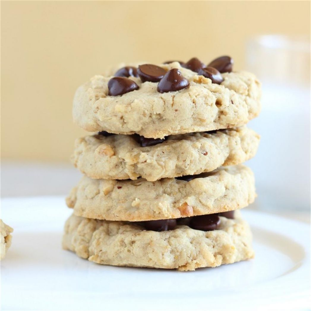 Rice Flour and Oatmeal Cookies - Oatmeal with a Fork - Recipes Using Rice Flour For Baking