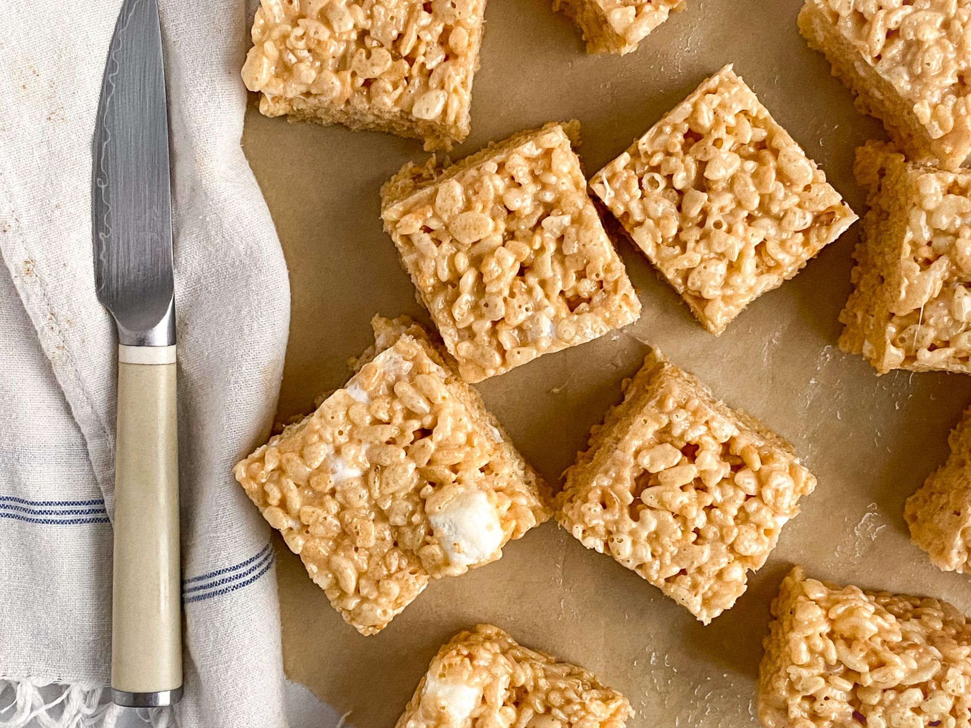 Rice Krispie Treats with Sweetened Condensed Milk - Recipes Dessert Condensed Milk