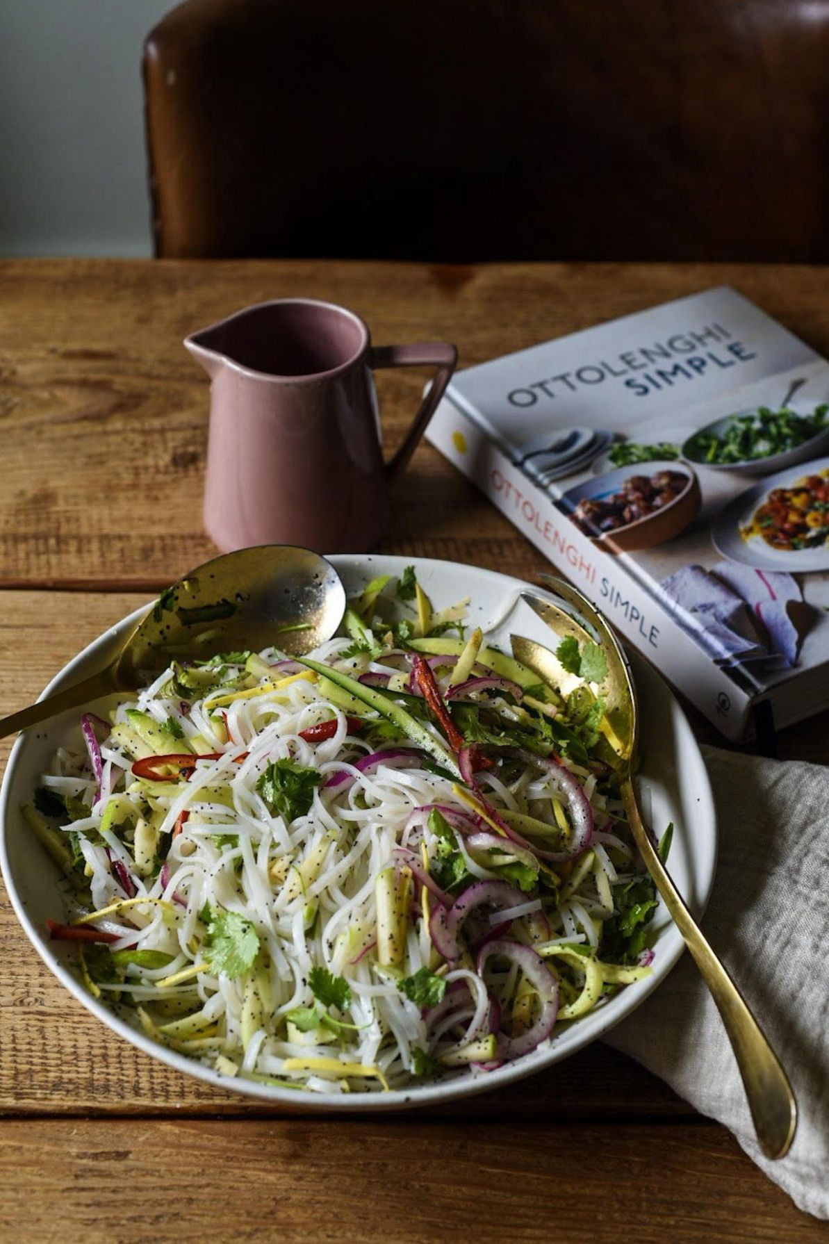 Rice Noodle Salad from Ottolenghi Simple in 8 | Ottolenghi ...