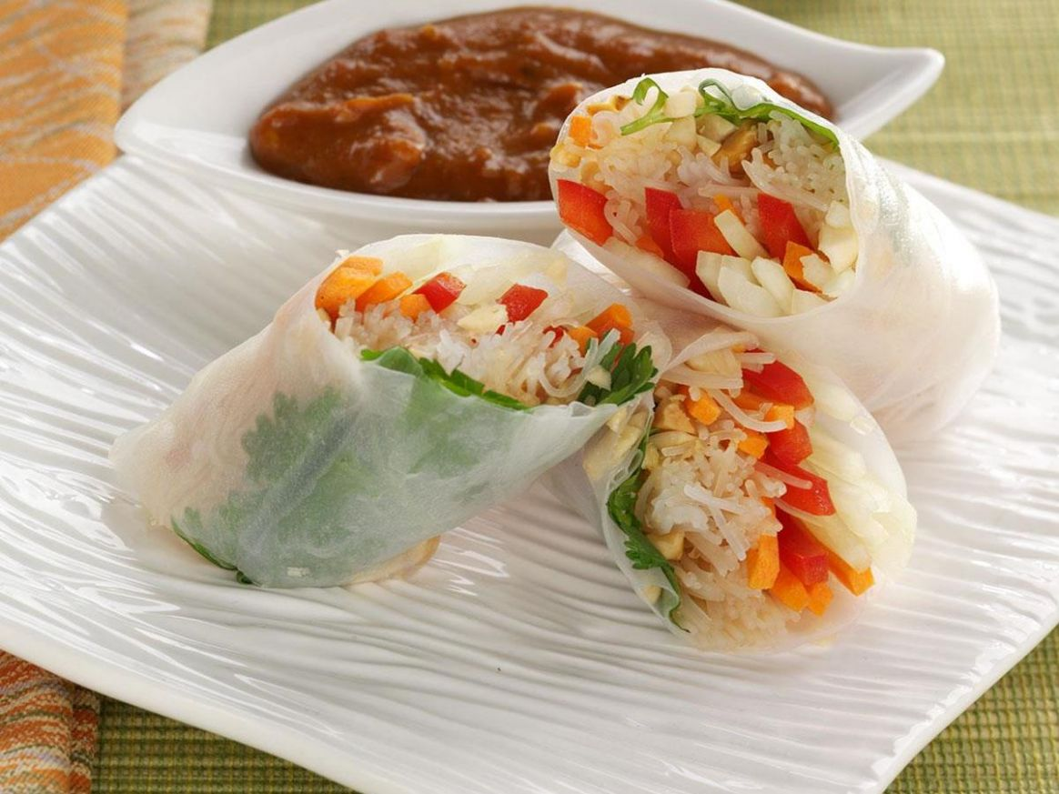 Rice Paper Rolls - Recipes Rice Paper