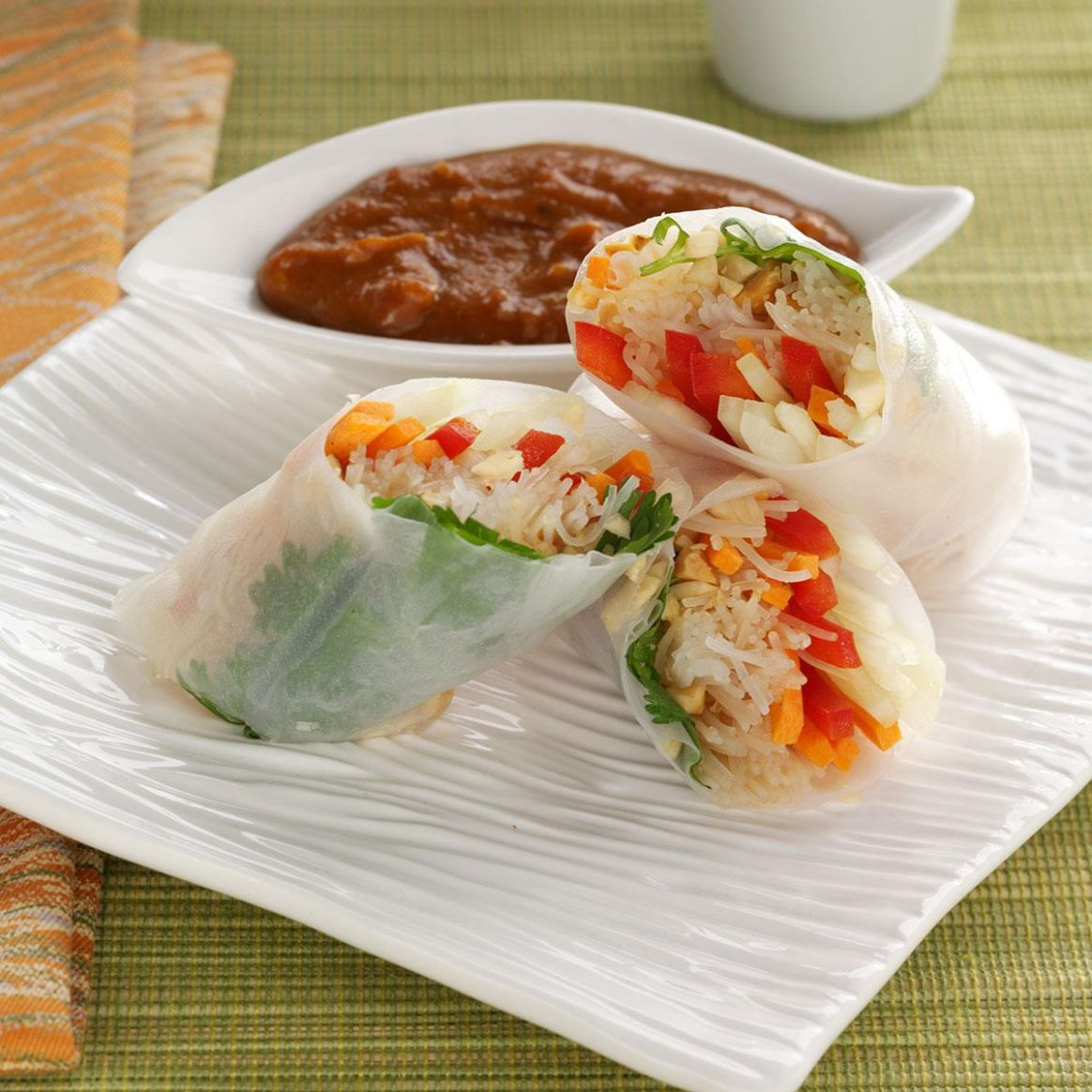 Rice Paper Rolls - Recipes Rice Wraps