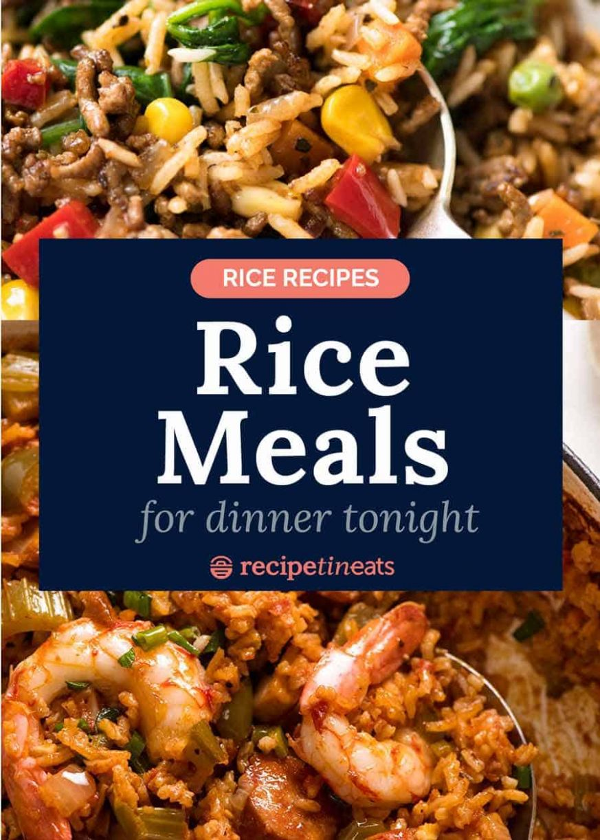 Rice recipes - rice meal recipes for dinner - Rice Recipes Nz