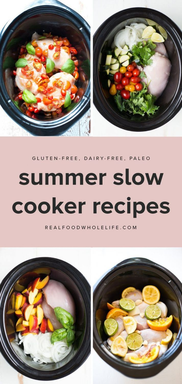 Ridiculously Easy Summer Recipes to Throw in Your Slow Cooker ..