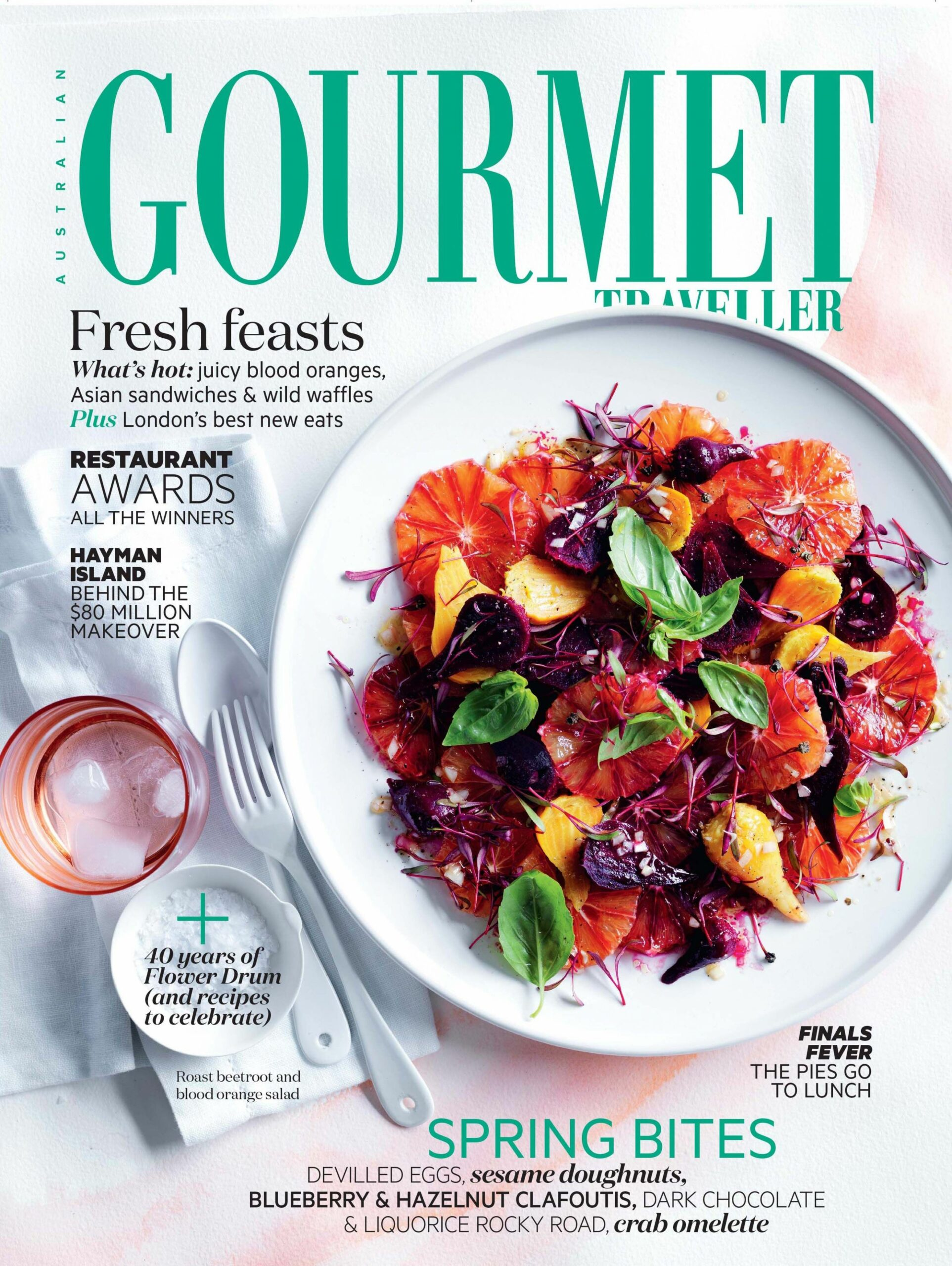 Roast beetroot and blood orange salad - Salad Recipes Gourmet Traveller
