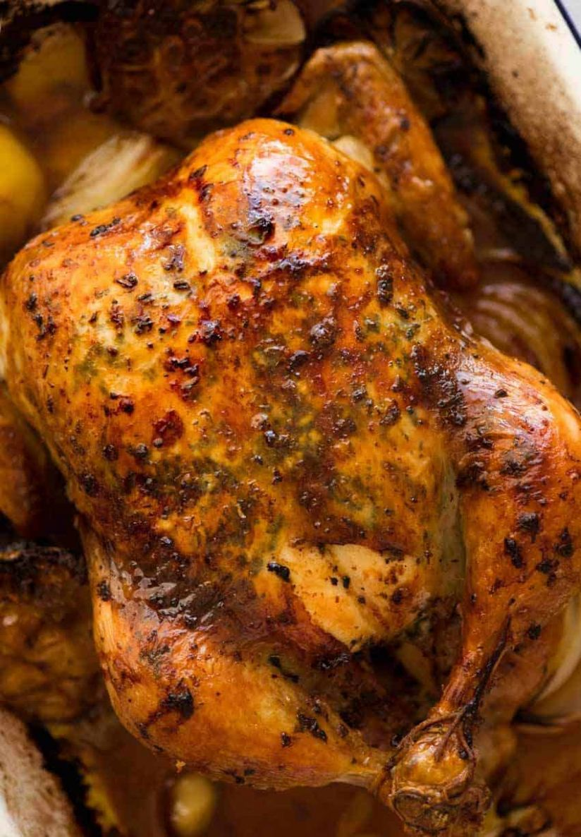 Roast Chicken - Recipes Chicken In Oven
