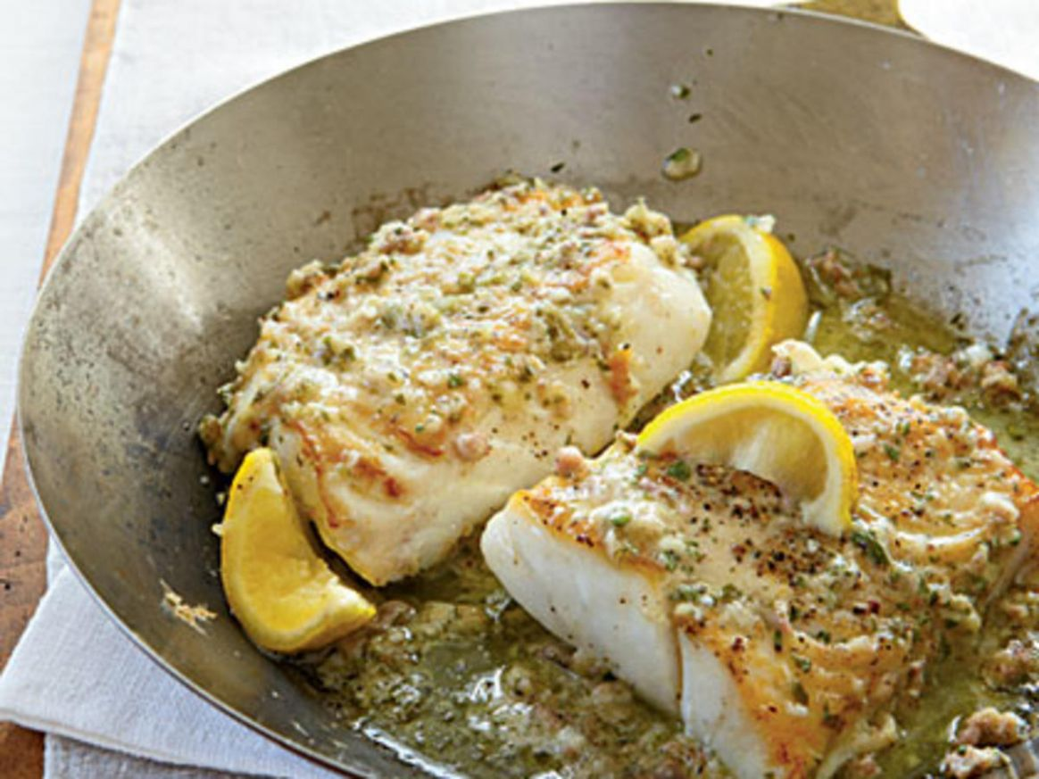 Roast Cod with Garlic Butter - Recipes Cooking Cod