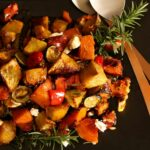 Roast Vegetable Salad With Maple Dressing – Vegetable Recipes Nz