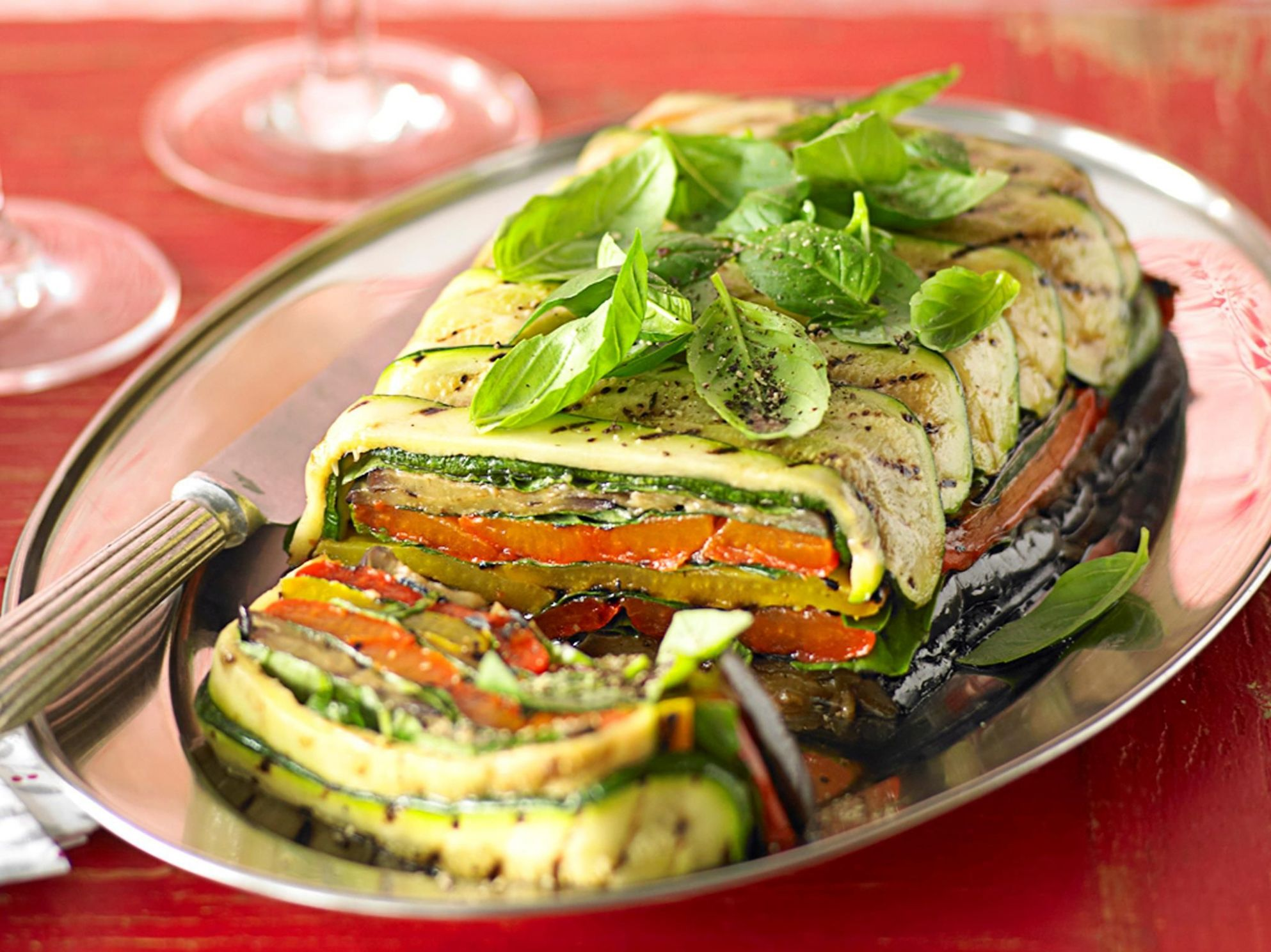 Roast vegetable terrine - Recipes Vegetable Terrine