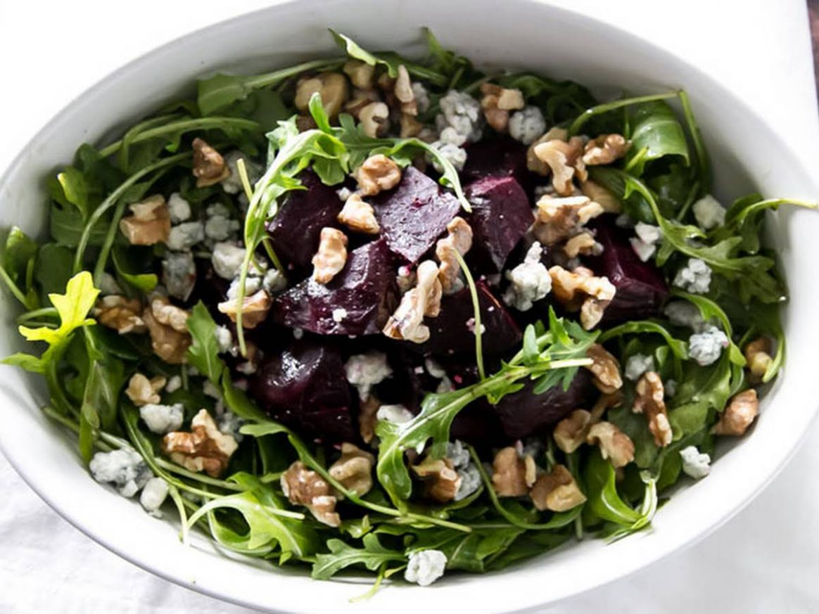 Roasted Beet Salad with Walnuts - Salad Recipes Gourmet Traveller