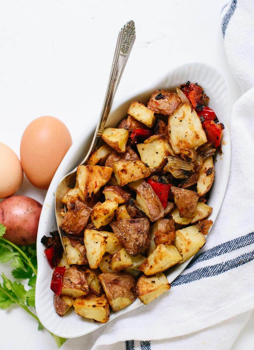 Roasted Breakfast Potatoes (Home Fries) - Cookie and Kate - Breakfast Potato Recipes Quick