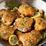 Roasted Chicken Thighs With Garlic – Recipes Chicken Roast