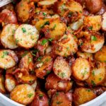 Roasted Garlic Butter Parmesan Potatoes – Potato Recipes Dinner