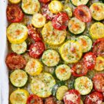 Roasted Garlic Parmesan Zucchini, Squash And Tomatoes – Recipes Summer Squash And Zucchini