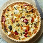 Roasted Summer Vegetable And Feta Quiche – Summer Quiche Recipes Uk