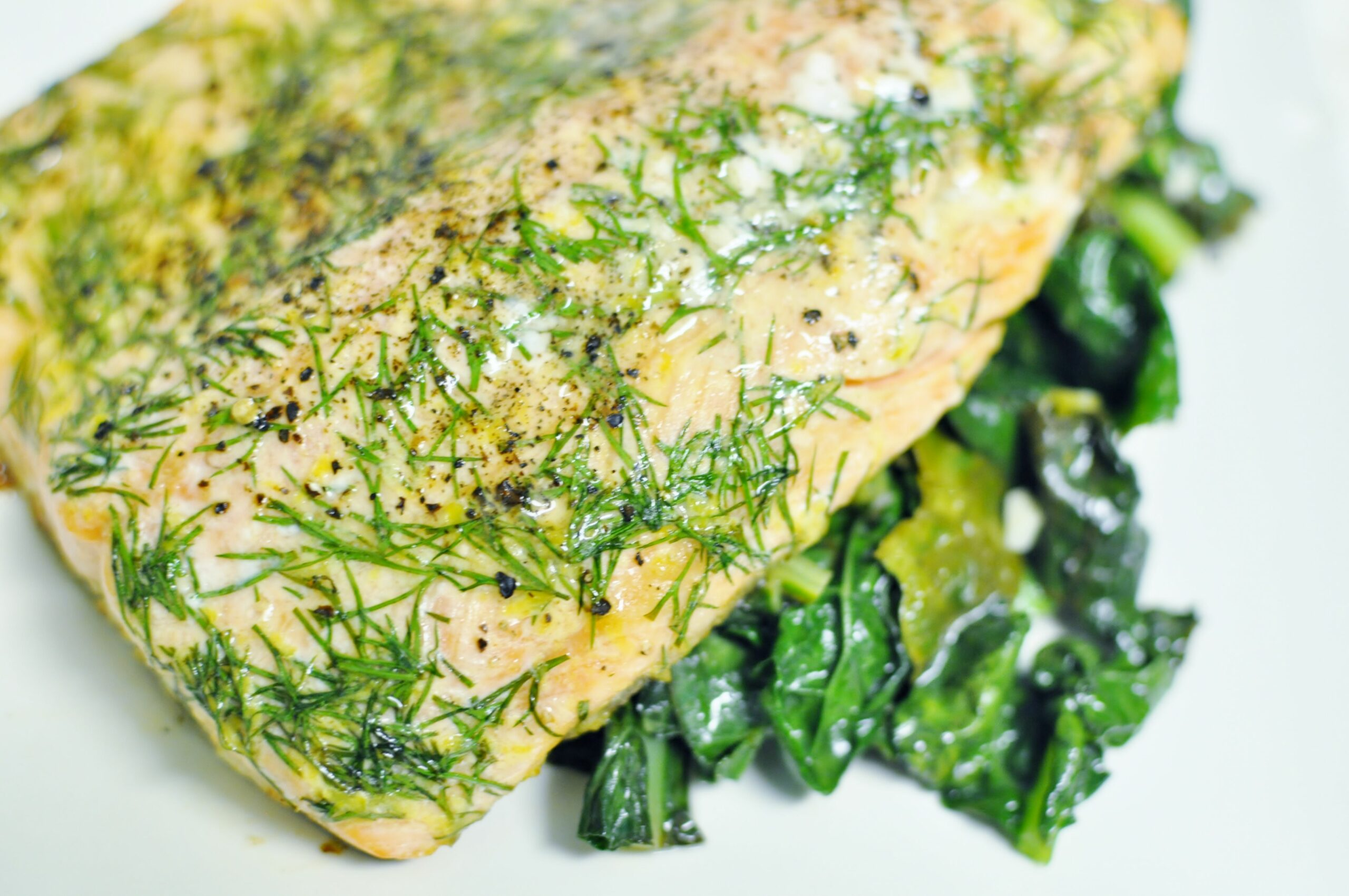 Roasted Trout with Lemon and Dill | Music With Dinner - Recipe Fish Dill