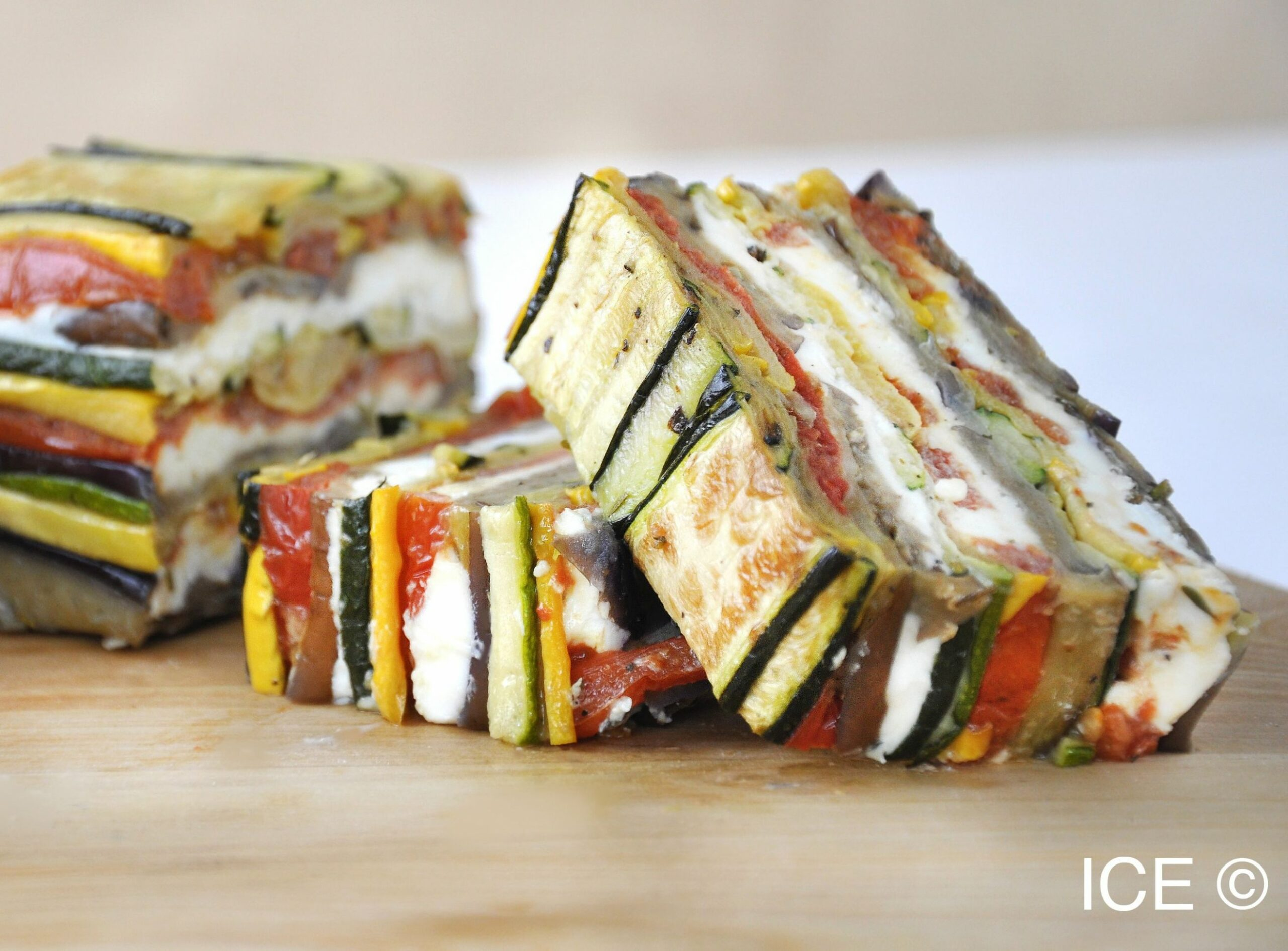 Roasted Vegetable and Goat Cheese Terrine | Terrine recipe, Veg ..