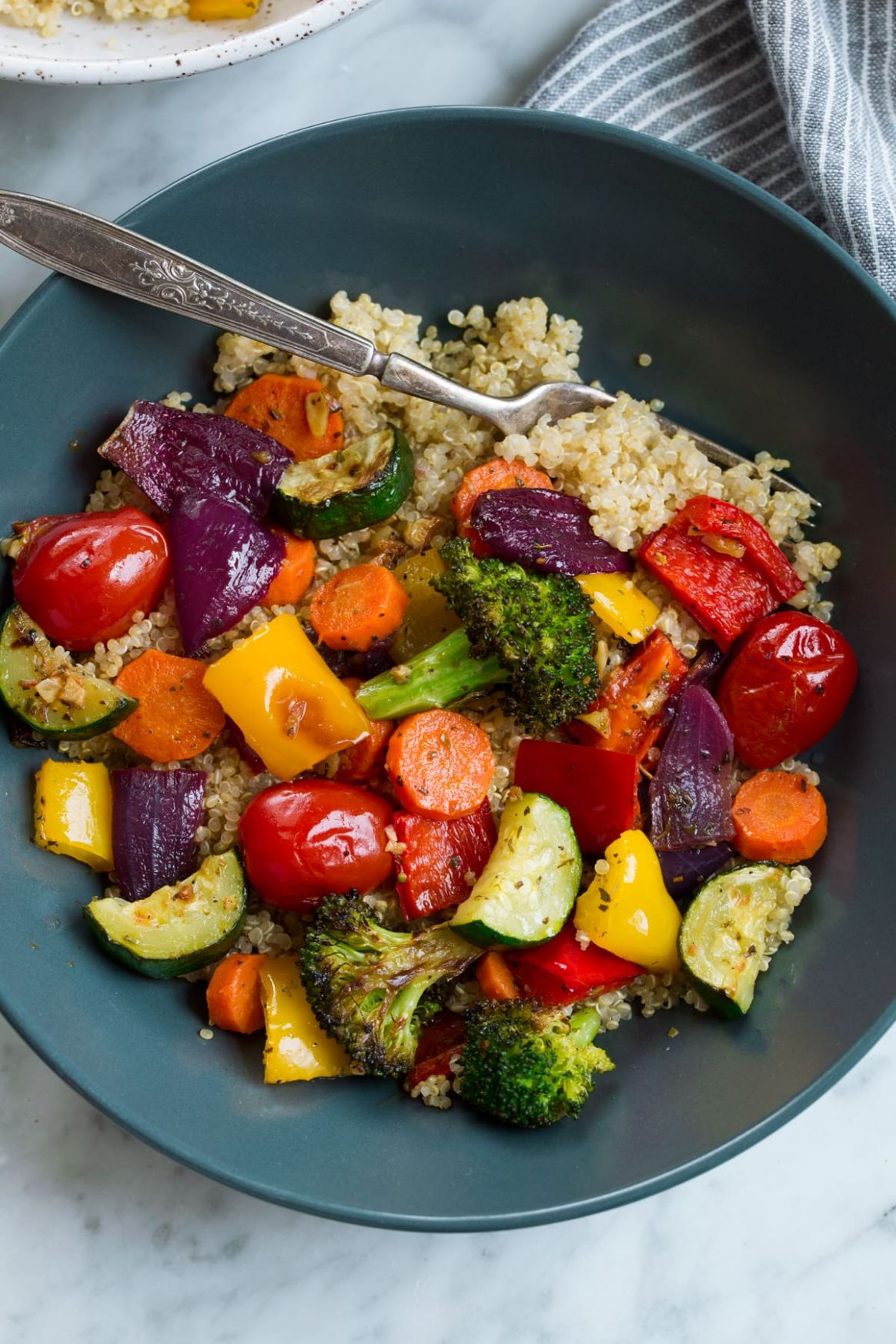 Roasted Vegetables - Recipes Of Vegetable Dishes