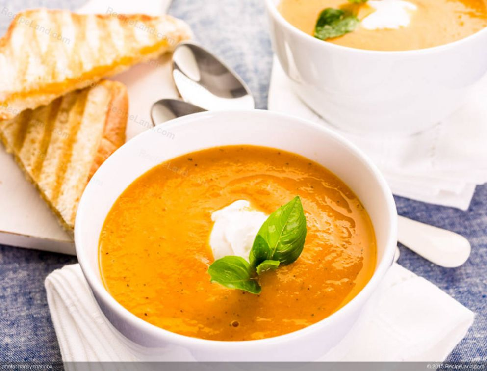 Roasted Yellow Pepper Soup - Soup Recipes Yellow Peppers