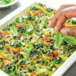 Rolled And Roasted Baby Marrow With Spinach – Recipes Vegetable Marrow