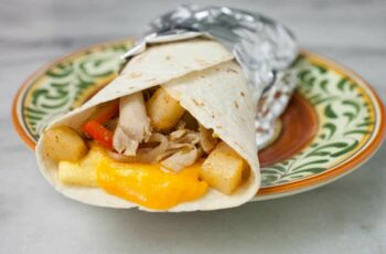 Rotisserie Chicken Breakfast Burrito