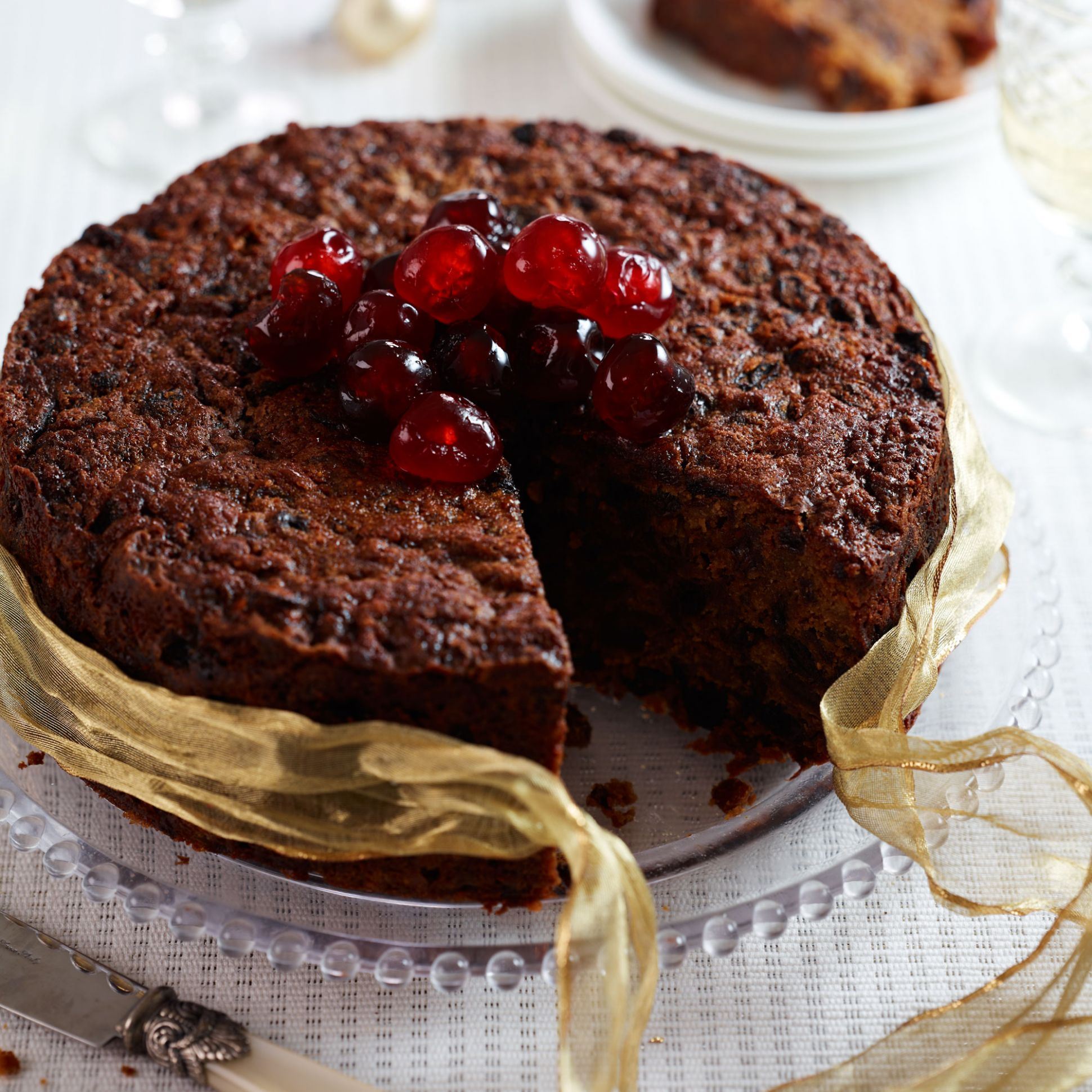 Saint Lucian Black Cake (Fruit Cake) - Easy Recipe Xmas Cake