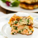 Salmon Cakes With Chive And Garlic Sauce – Recipes Fish Cakes Salmon