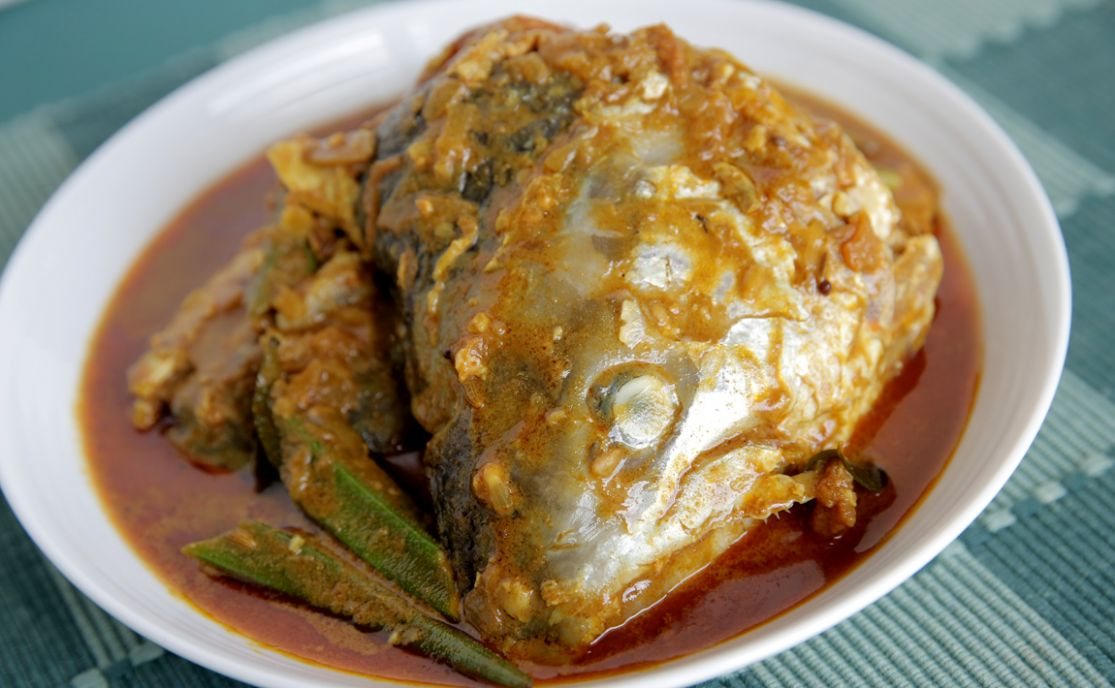 Salmon Fish Head Curry | FriedChillies › The All-Time Food Network - Recipe Fish Head
