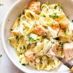 Salmon Pasta With Mixed Greens – Recipes Pasta And Salmon