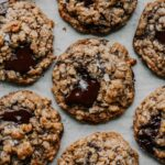 Salted Toffee And Dark Chocolate Oatmeal Cookies – Recipe Chocolate Oatmeal Cookies