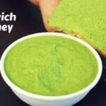 Sandwich Chutney Recipe | Green Chutney For Sandwich Recipe – Sandwich Recipes Chutney