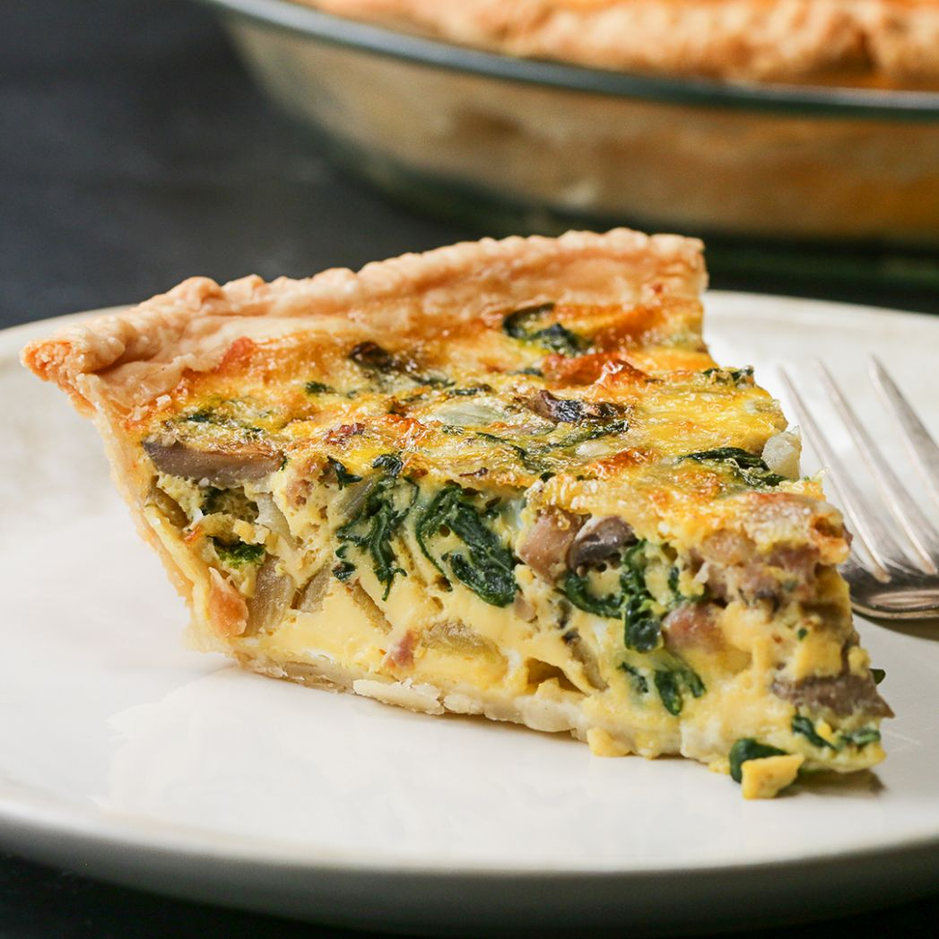 Sausage & Veggie Quiche Recipe by Tasty - Recipes Egg Quiche