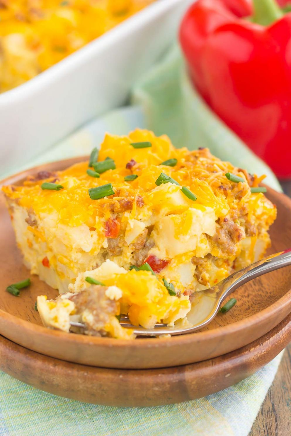 Sausage and Hash Brown Breakfast Casserole - Recipe Egg Hash Brown Sausage Casserole