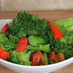 Sauteed Broccoli And Red Bell Pepper – Recipes Easy Vegetable Side Dish