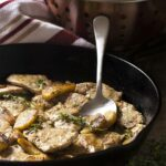 Sauteed Pork Tenderloin Medallions With A Cider Cream Sauce – Just ..