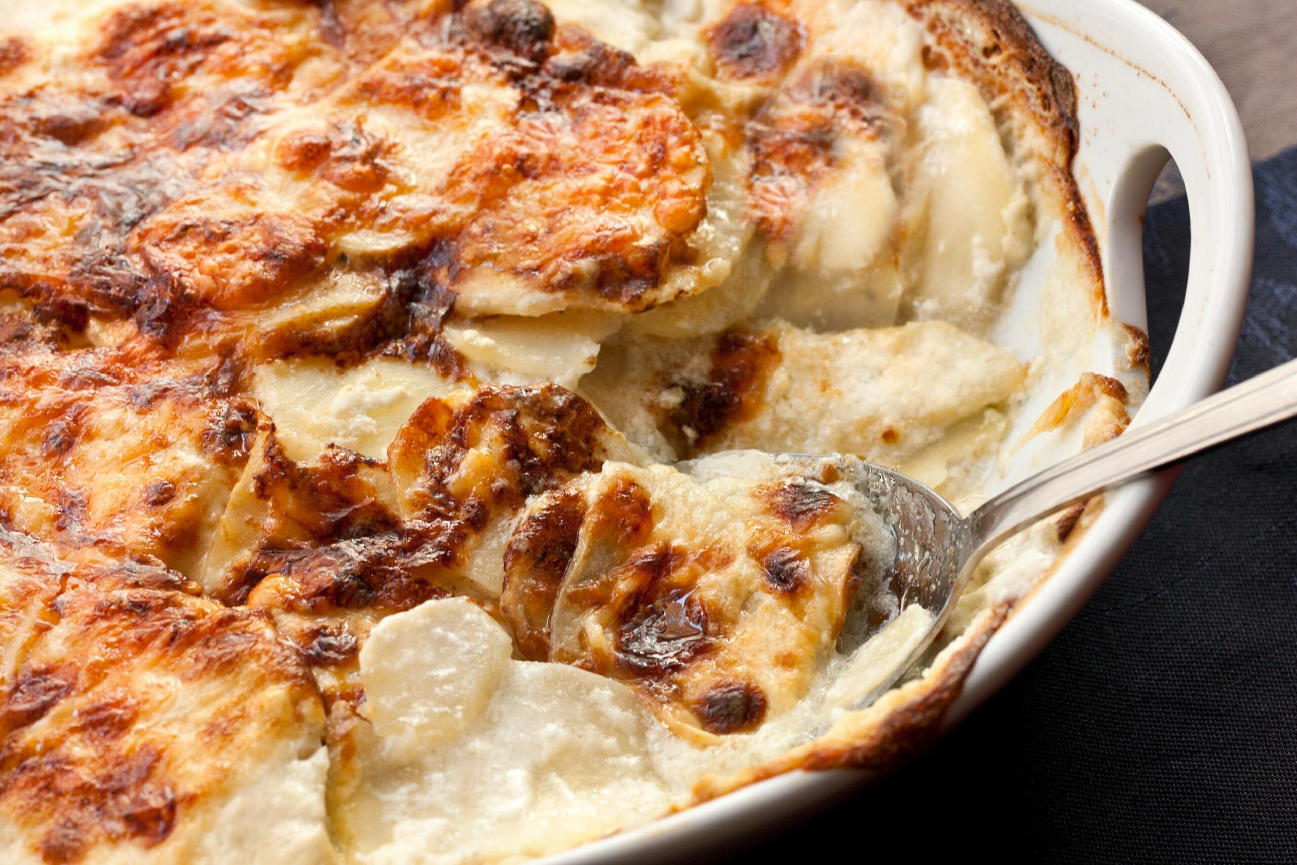 Scalloped Potatoes - Potato Recipes Easter