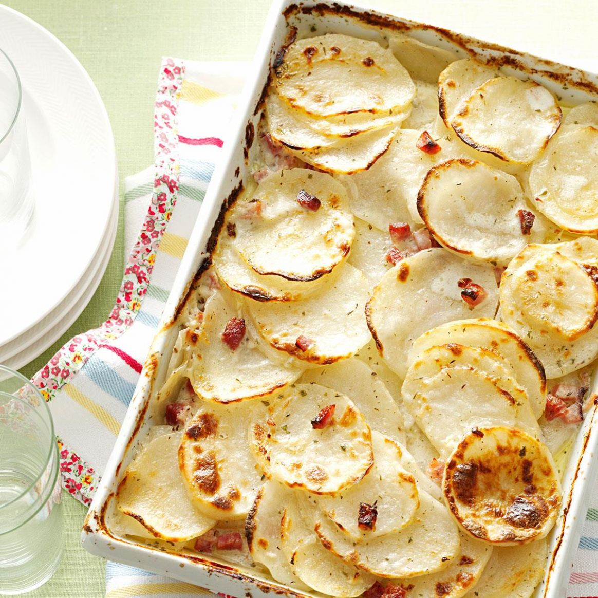 Scalloped Potatoes with Ham - Recipes Potatoes With Ham