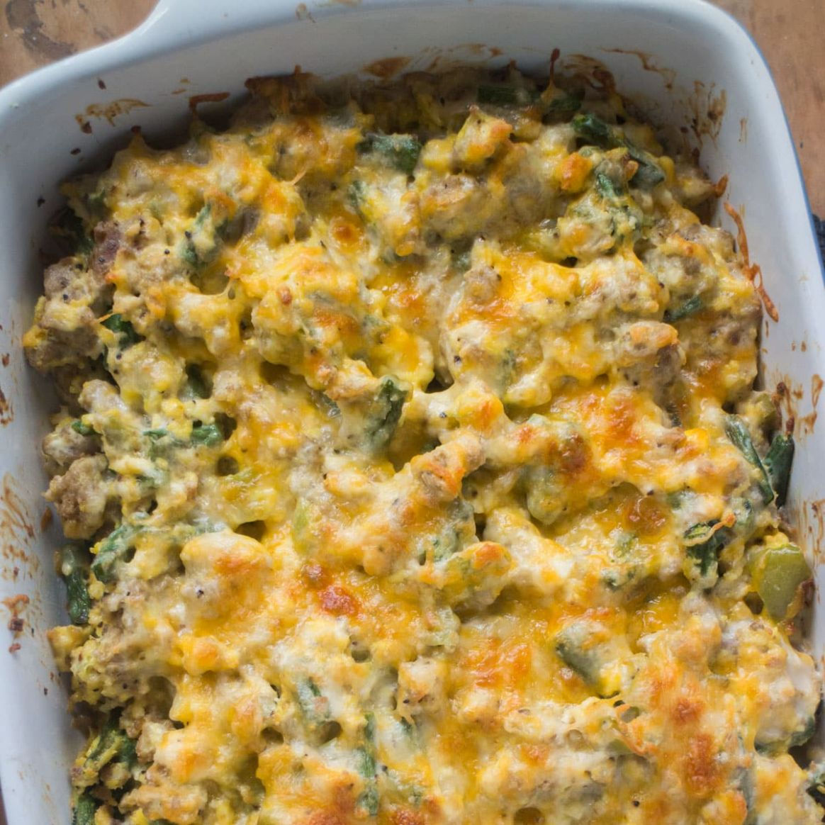 Scrambled Egg and Ground Beef Casserole - Recipe Egg Ground Beef