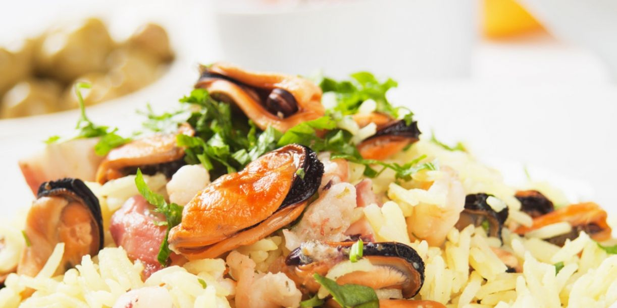 Seafood Risotto (Risotto ai Fruitti di Mare) - Recipe Fish Risotto