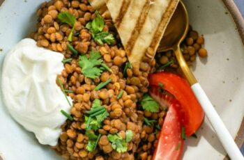 Seasoned Brown Lentils – A Couple Cooks