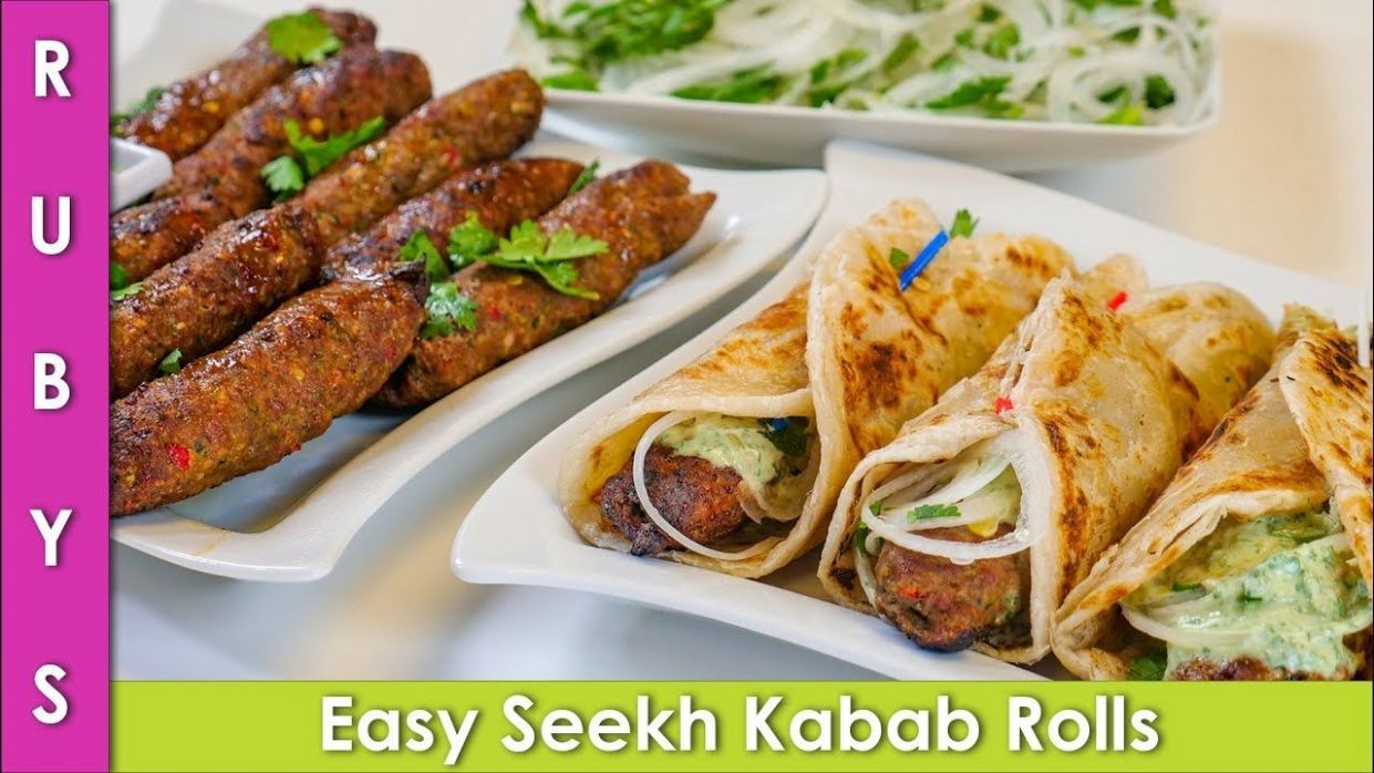 Seekh Kabab Iftar Party Rolls Ramadan Special Recipe in Urdu Hindi ..