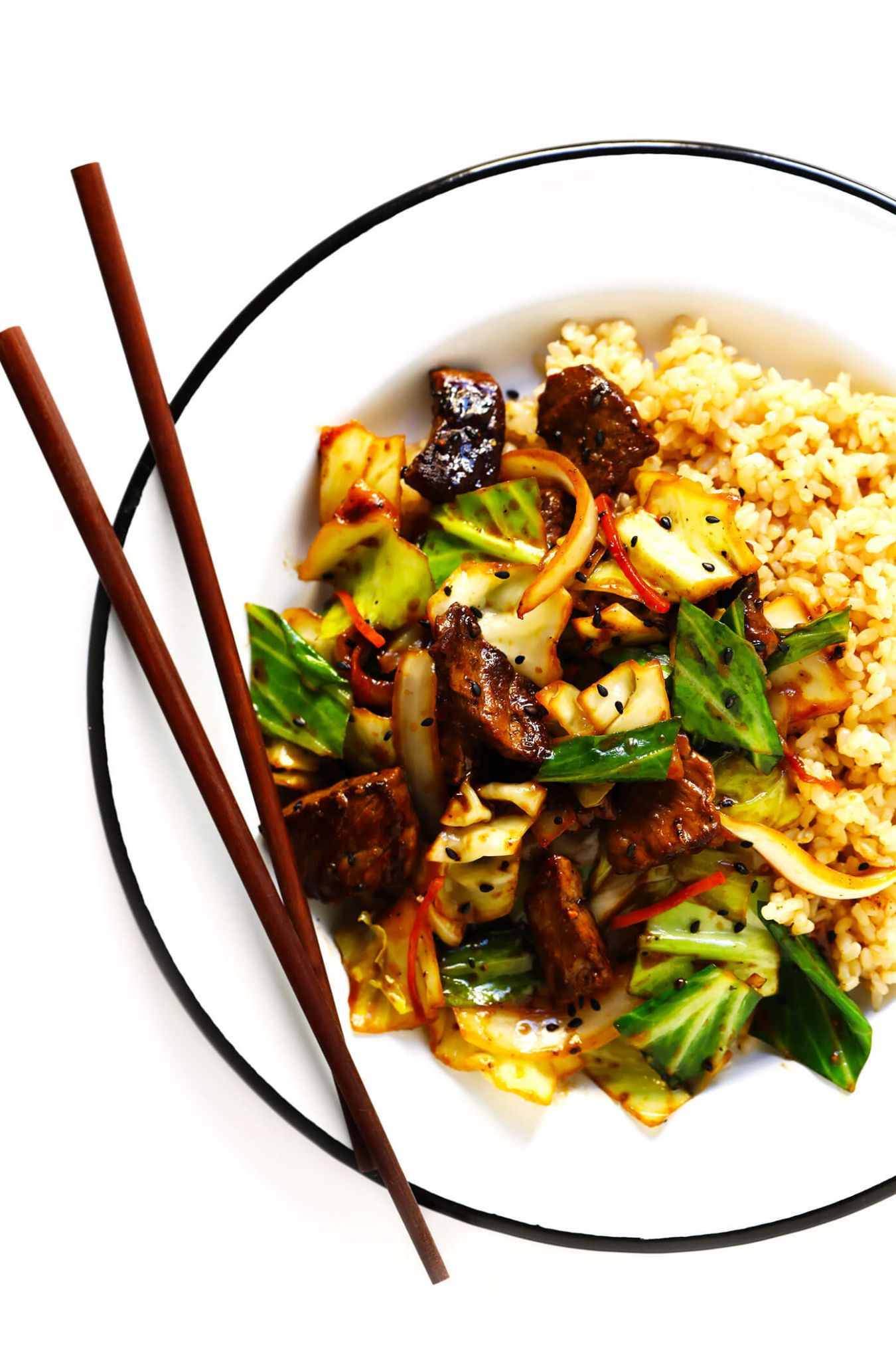Sesame Beef and Cabbage Stir-Fry - Recipes Beef And Cabbage
