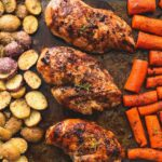 Sheet Pan Balsamic Chicken With Potatoes And Carrots – Recipes Chicken Breast With Potatoes